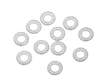 150pcs Antique Silver Soldered Closed Jump Rings 3.5mm x 1 .7mm (B294i)