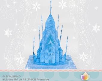 Frozen Centerpiece Printable For Frozen Birthday Diy
