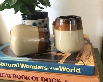 Set of vintage mugs, coffee mugs