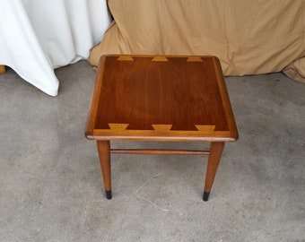 Vintage 1960u0027s Lane Acclaim Snack Table Mid Century Modern Dovetail Design  Andre Bus MCM
