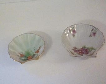 Lovely Porcelain Trinket Dishes (2)