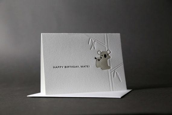 Koalas Happy Birthday
