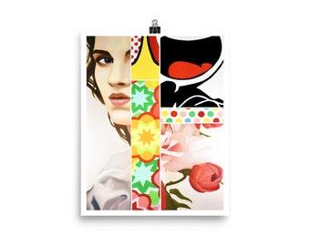 "Blooming"" Art Print"