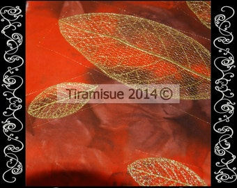 Skeleton Leaves - 7 Different Leaves for the 4x4 (100x100mm)  Hoop - Machine Embroidery Designs