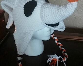 Crochet Nightmare Before Christmas Zero Hat