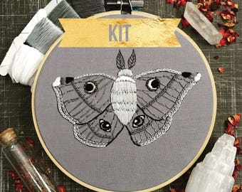 Night Empress Hand Embroidery kit DIY
