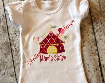 Circus Tent Birthday Shirt