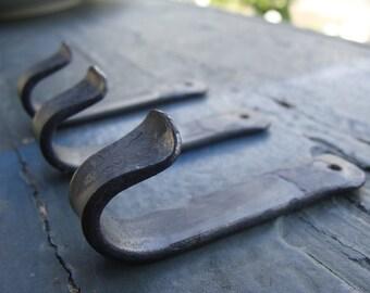 Blacksmith Forged Decorative Wall Hooks