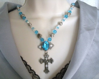 Medieval Cross Necklace, medieval jewelry renaissance jewerly victorian jewelry art nouveau jewelry gothic jewelry edwardian neo victorian