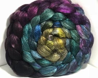 Spinning Fiber Yak Bombyx Silk 50/50 - 5oz - Language of Making 2