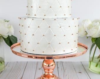 Ready To Ship Tufted Cake- Fake cake, prop cake, party decor