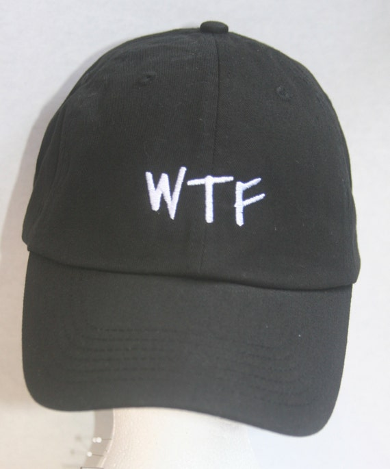 WTF (Polo Style Ball Black with White Stitching)