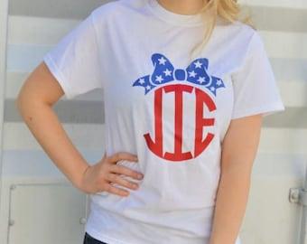 Patriotic Bow T-Shirt