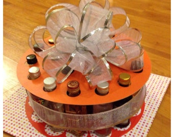 Custom Color: 21 Shots, 21st Birthday Celebration Cake Kit