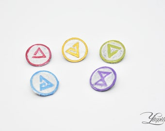 The Witcher inspired pins