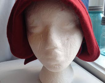 denim, flannel ladies autumn hat