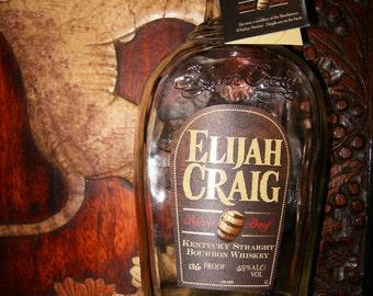 Elijah Craig BARREL PROOF 750ML RARE - 1/5 Empty Glass Bourbon Liquor Bottle