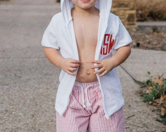 Boys Cover-Up / Hooded Towel