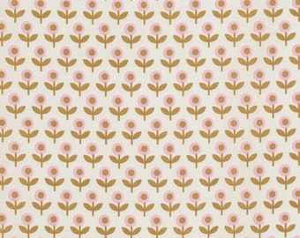 54097- Joel Dewberry Modernist collection Tulip march in dijon color - 1/2  yard