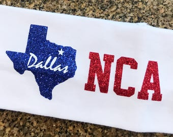 Ready To Ship NCA DALLAS Headband