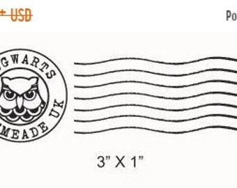 May Sale Hogwarts Postmark Rubber Stamp 215