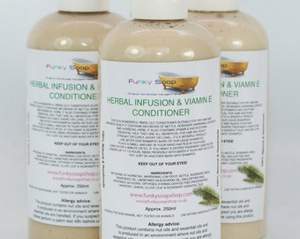 1 bottle Herbal Infusion Vit E Hair Conditioner 250ml dry hair/irritated scalp