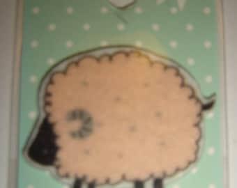 SHEEP PINK COAT