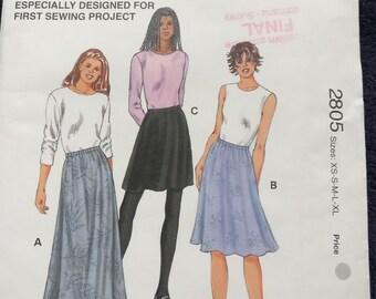 Kwik Sew Skirt Pattern 2805