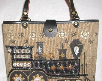 Enid Collins, Vintage Handbag, . Iron Horse .. 1964, Beautiful, Enid Collins Handbag