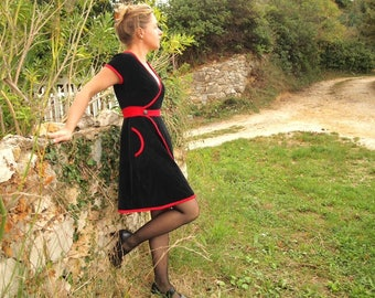 Made to order: women's dress in a larg choice of fabric
