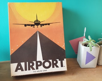 1972 - Airport The Airline Game - Board Game