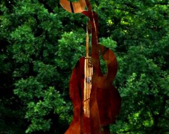 The Grand Bass Player, a 15 foot Outdoor Sculpture