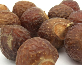 Soap Nuts, Berries - Wild Harvested, Natural soap alternative for sensitive skin, allergies, eczema, baby clothes, bedding