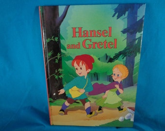 vintage 1994 Hansel and Gretel book