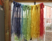 Naturally dyed wild silk ...