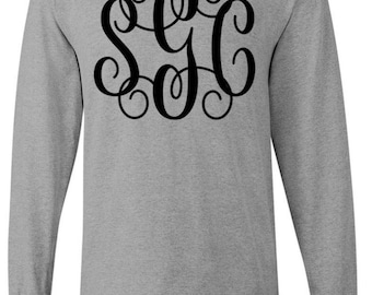 Monogram Vinyl Long Sleeve T-Shirt
