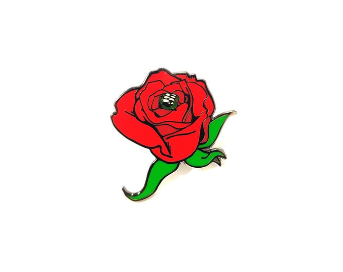 Rose Biollante pin