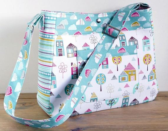 Diaper Bag Pattern Petite Street Nappy Bag Sewing Pattern