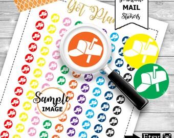 Mailbox Icon Stickers, Icon Planner Stickers, Functional Planner Stickers, Stickers For Planners, Printable Planner Stickers