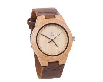 Women's Wooden Watches - Personalized Engraving. Gift for Bridesmaids, Girlfriend. Gift on Anniversary, Mother's Day, Graduation