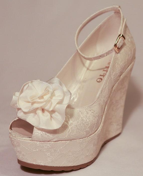 Wedding Wedding Shoes Bridal Wedge ShoesBridal Shoes