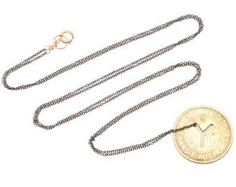 Subway Token Vintage NYC Long Necklace