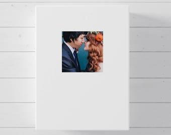 Wedding Guest Book Alternative, Photo Canvas Guest Book for Wedding