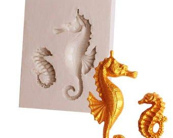Small Seahorse Silicone Mold