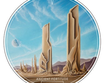 Ancient Fortitude Magnet