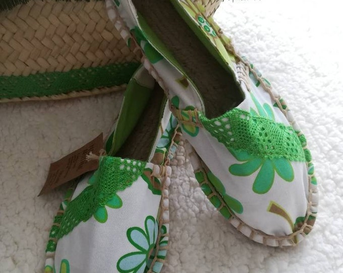 Cloth shoes, women's Espadrilles, Handmade shoes, Espadrilles, espadrilles, Moccasins, women's shoes, women's Slip Ons, Custom Espadrilles