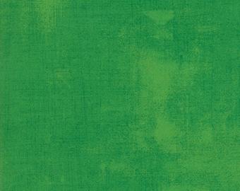 Moda Grunge Basics FERN Green Mottled Background Fabric 30150-339 Fabric BTY 1 yd