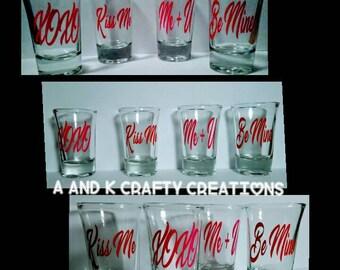 Conversation Shot Glass Set
