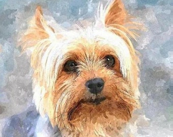 Custom PET Portrait, DOG Portrait, CAT Portrait, Pet Memorial, Custom Dog Portrait, Birthday Gift, Wedding Gift, Dog Art, Cat Art, Pets