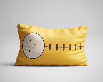 Finn Pillow, Adventure Time, Bed Pillow, Best Pillow, Cute Cushion, Finn The Human, Jake The Dog, Geeky Fanart, Cool Gift, Under 50
